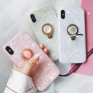 {Hollana} opalescent iPhone ring case